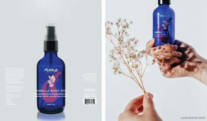 Miiko Skin 品牌设计欣赏