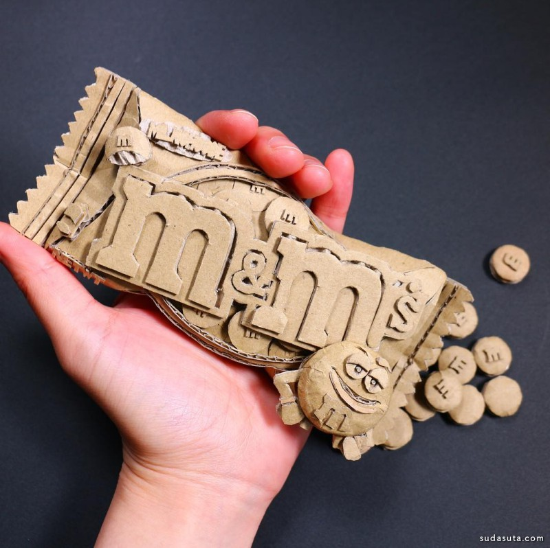 Monami Ono 纸张艺术