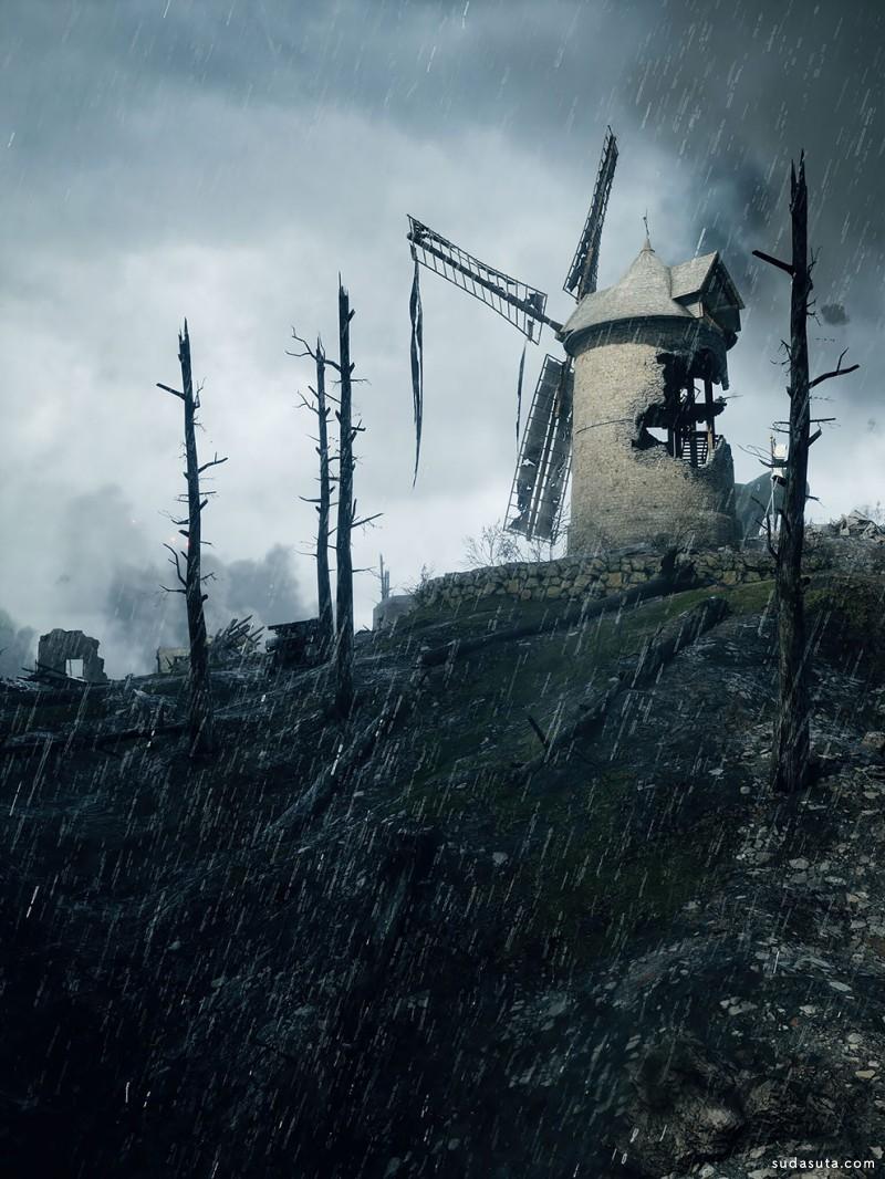 Petri Levälahti 游戏数字艺术作品欣赏