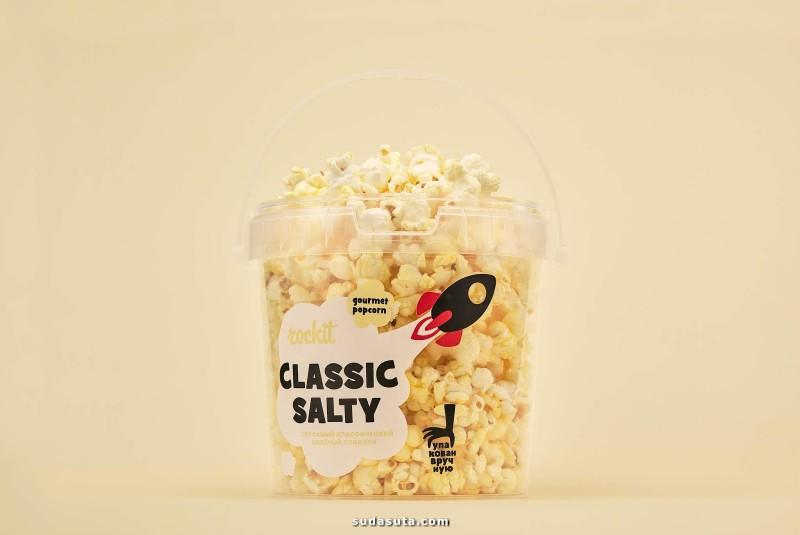 Popcorn Rockit 摇滚爆米花 品牌设计欣赏