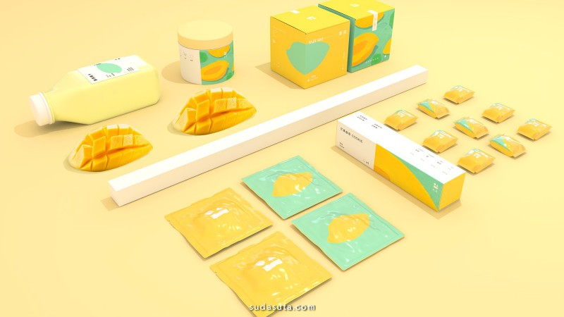 Rango 冰激凌色 品牌及包装设计欣赏