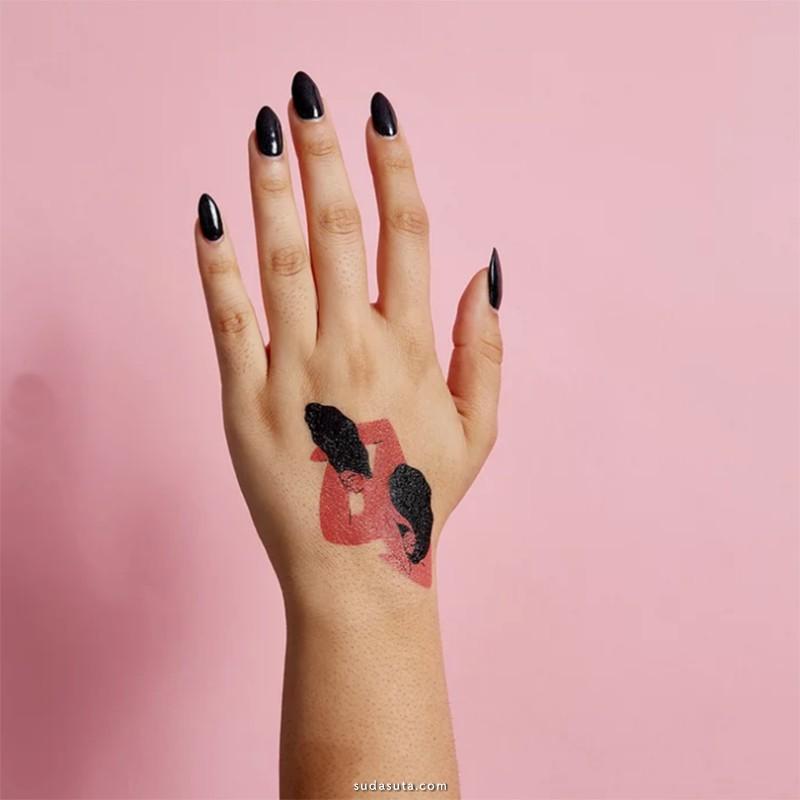 超多设计师的可爱原创纹身设计