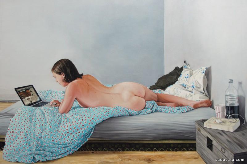 Thomas Lévy-Lasne  超现实主义绘画艺术欣赏
