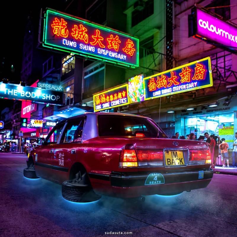 Tommy Fung 不可思议的照片合成作品