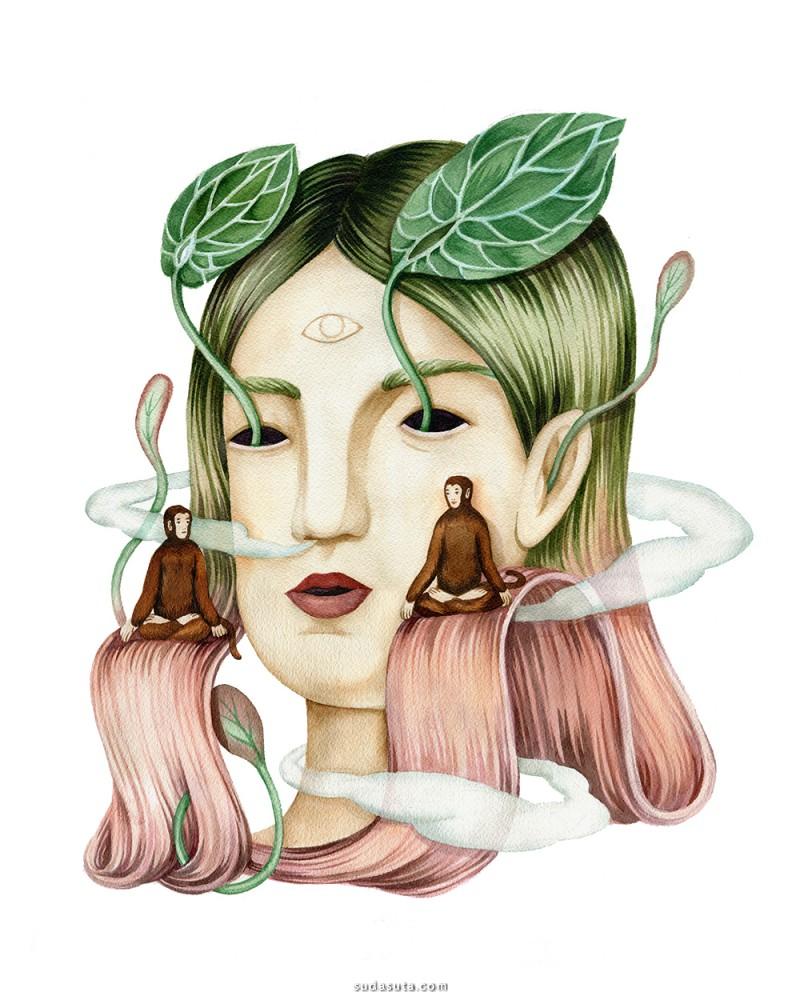Andrea Wan 商业插画欣赏