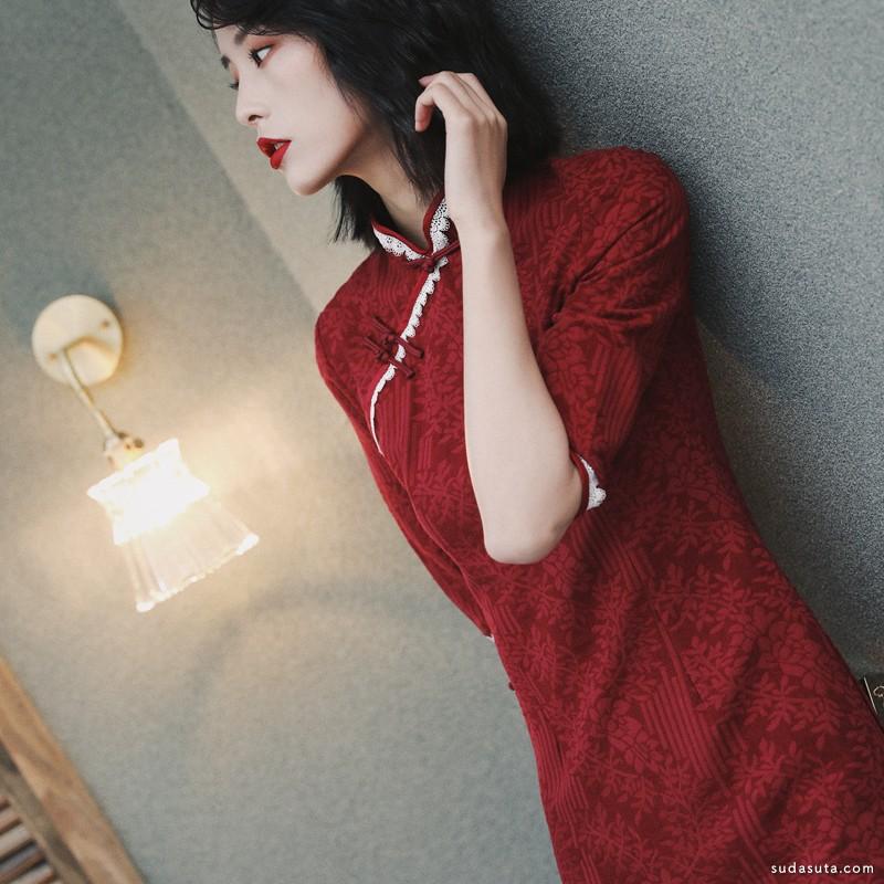 爱裳霓 改良旗袍设计