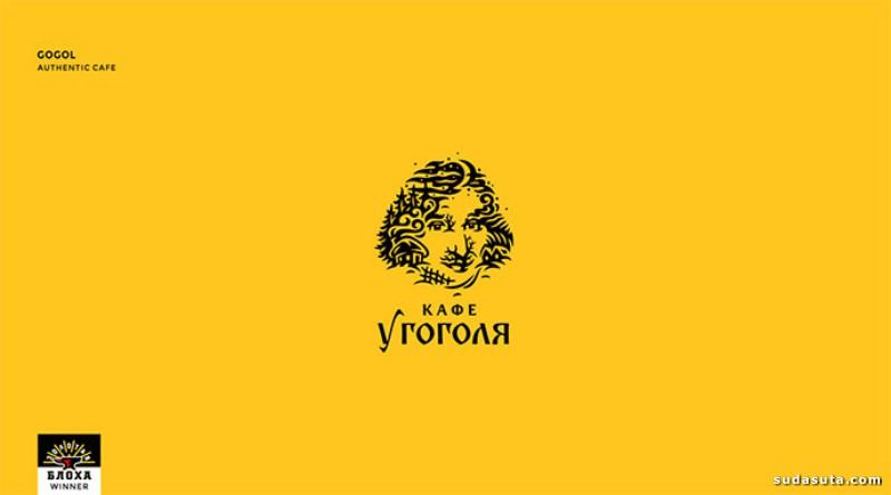 20个肖像标志设计的令人印象深刻的例子
