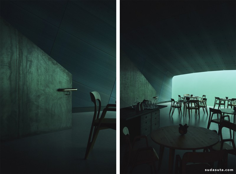 Snøhetta 水下餐厅