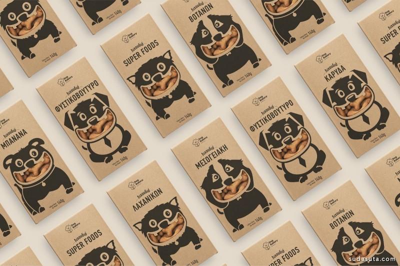 Dog Bakery 包装设计欣赏