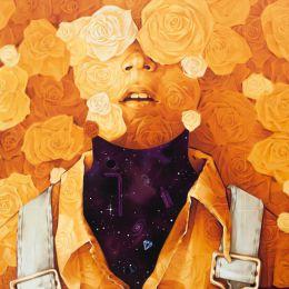 INTI 法国的黄色花朵 城市艺术欣赏