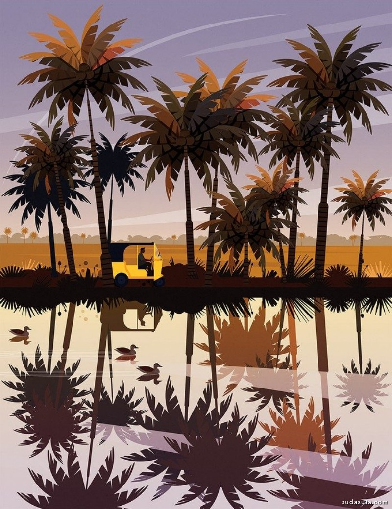 James Boast 书籍插画欣赏