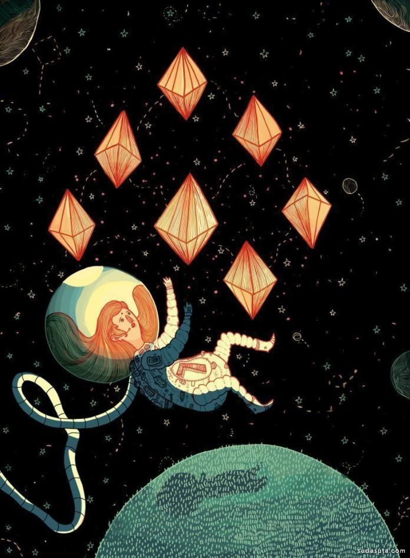 Ken Rojas 商业插画欣赏