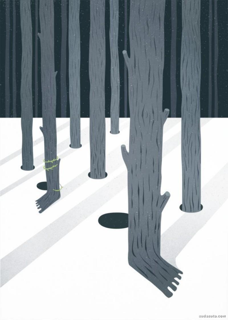 Silvia Bettini 时尚插画欣赏