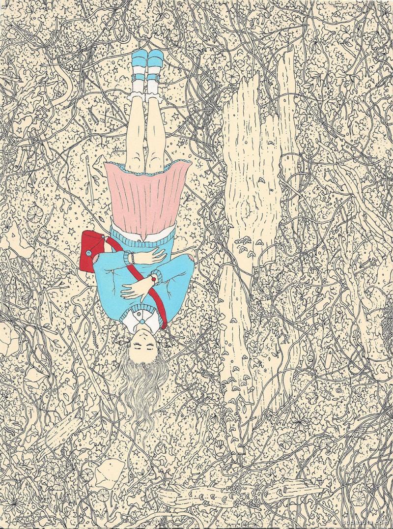 Jenna Andersen 成人童话 个性插画欣赏
