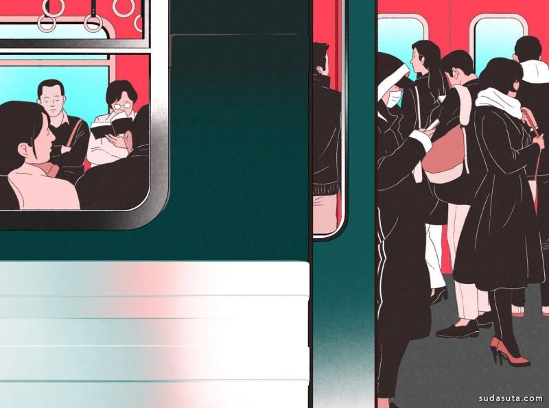 Jee-ook Choi 插画作品欣赏
