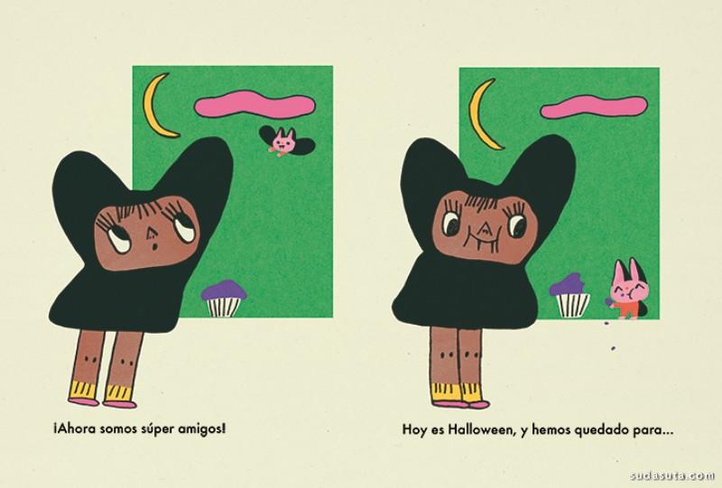 María Ramos 有趣简约的卡通漫画