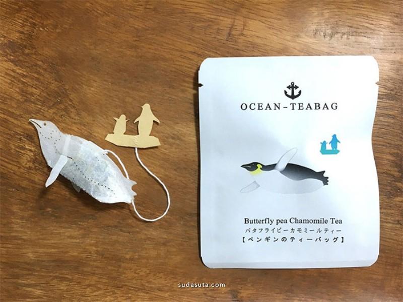 Ocean Teabag 不一样的茶袋设计
