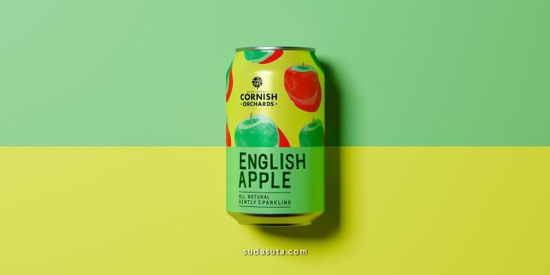 Cornish Orchards 包装设计欣赏