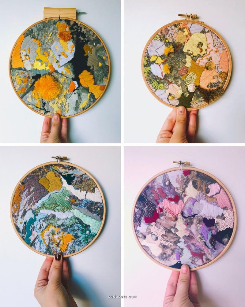 Emily Botelho 海洋的纺织艺术