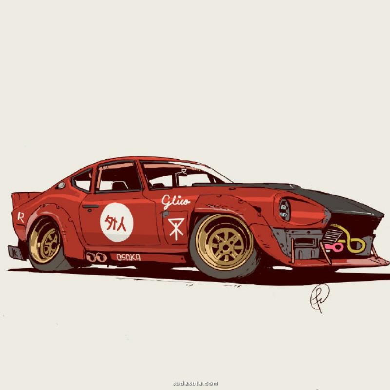 Fernando Correa 汽车造型设计欣赏