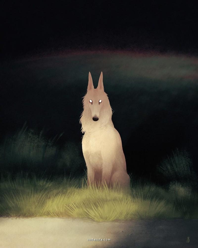 Jenna Barton 神秘动物插画欣赏