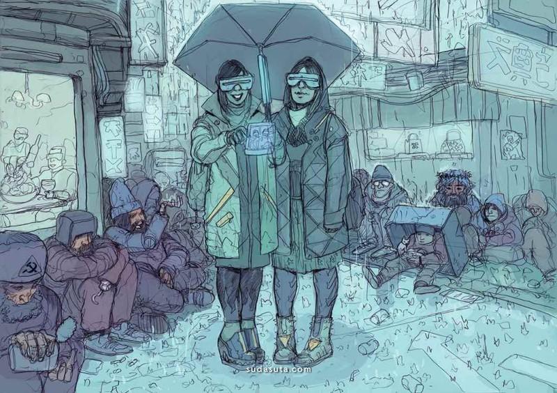 Josan Gonzales 潮流插画欣赏