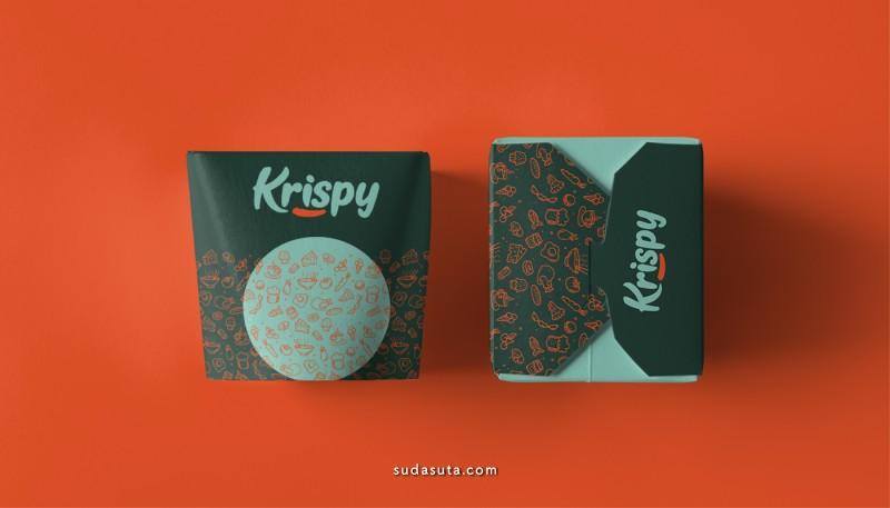 Krispy 品牌及包装设计欣赏