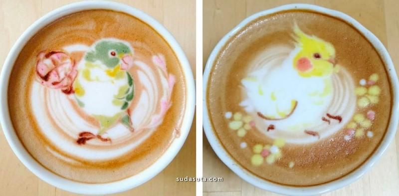 Kunit92 可爱的咖啡艺术