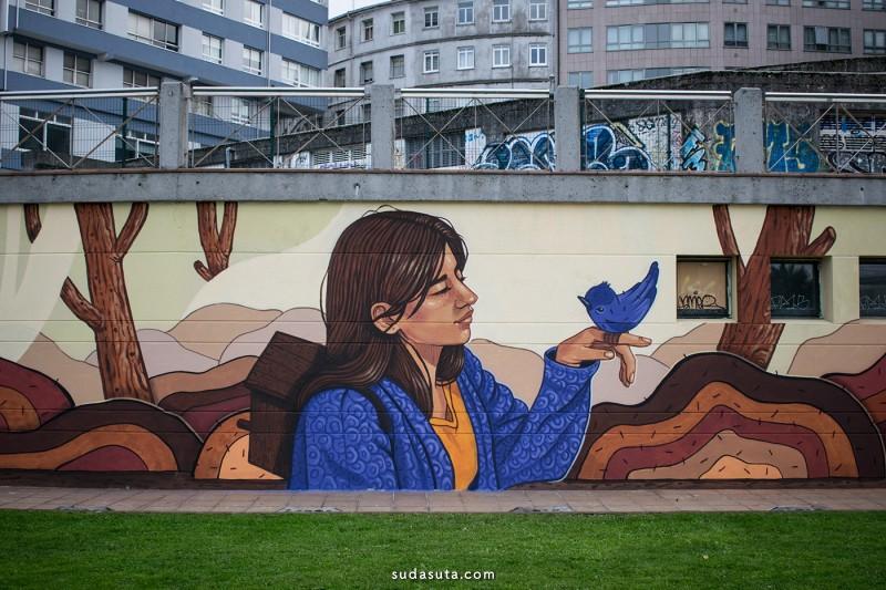 Lidia Cao 街头艺术欣赏