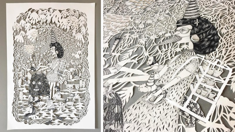 Lucila Biscione 纸张的艺术