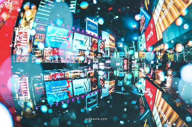 Tantan 城市视觉艺术欣赏