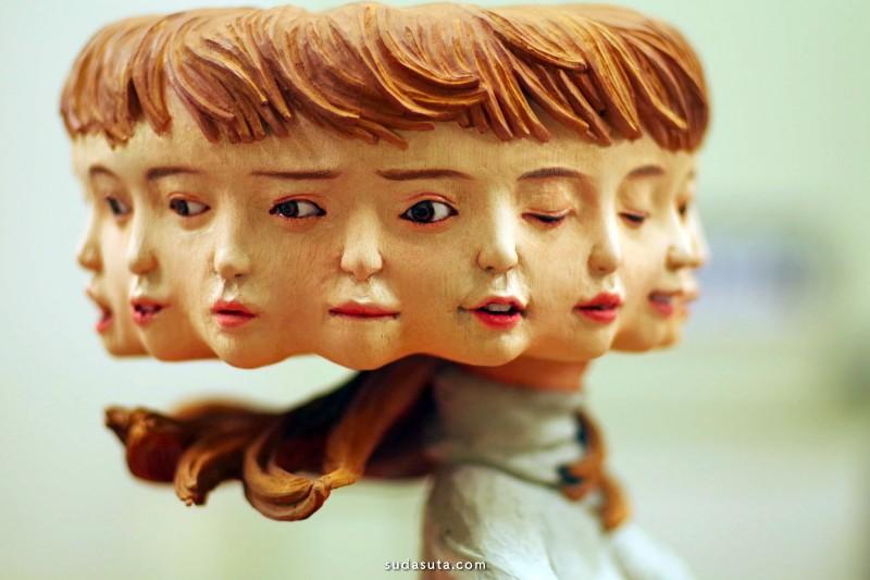 Yoshitoshi Kanemaki 雕塑设计欣赏