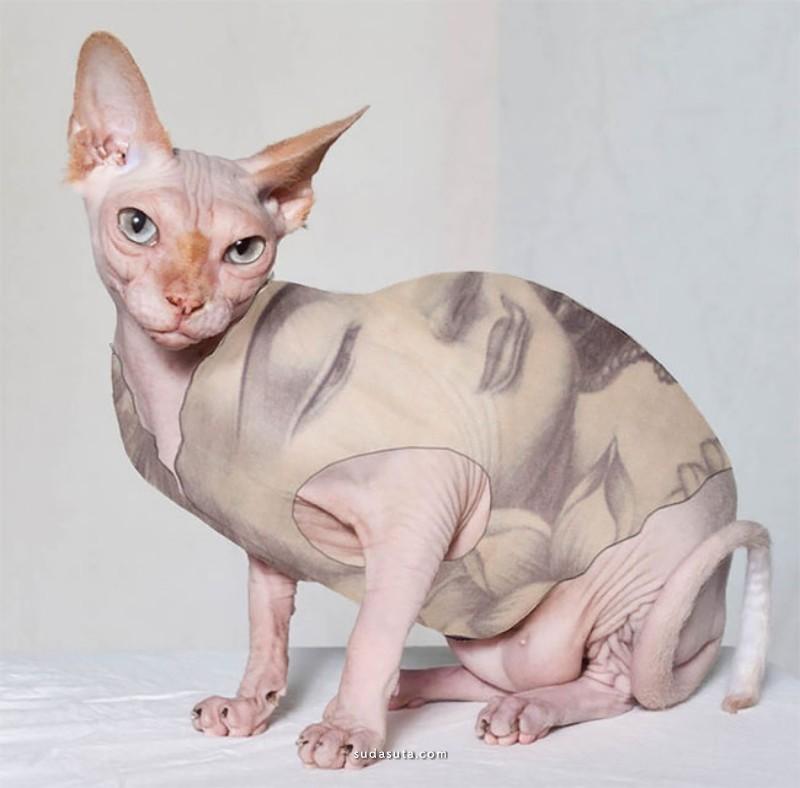 Airie McCready 猫咪的纹身
