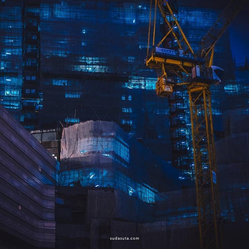 Andy Knives 城市夜景 炫目的霓虹