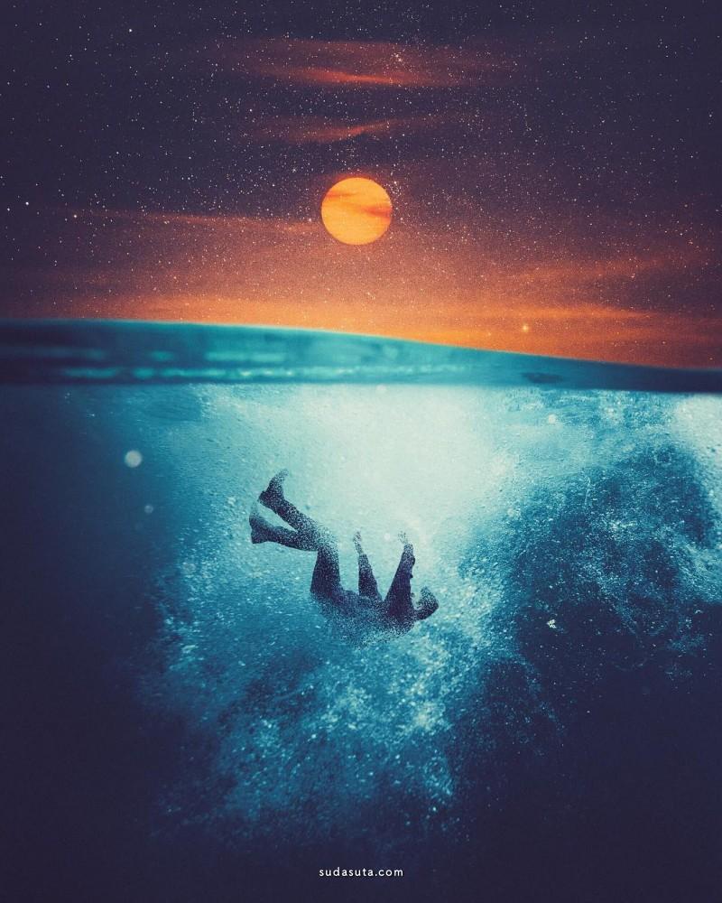 Annisa Tiara Utami 超现实主义照片合成作品欣赏
