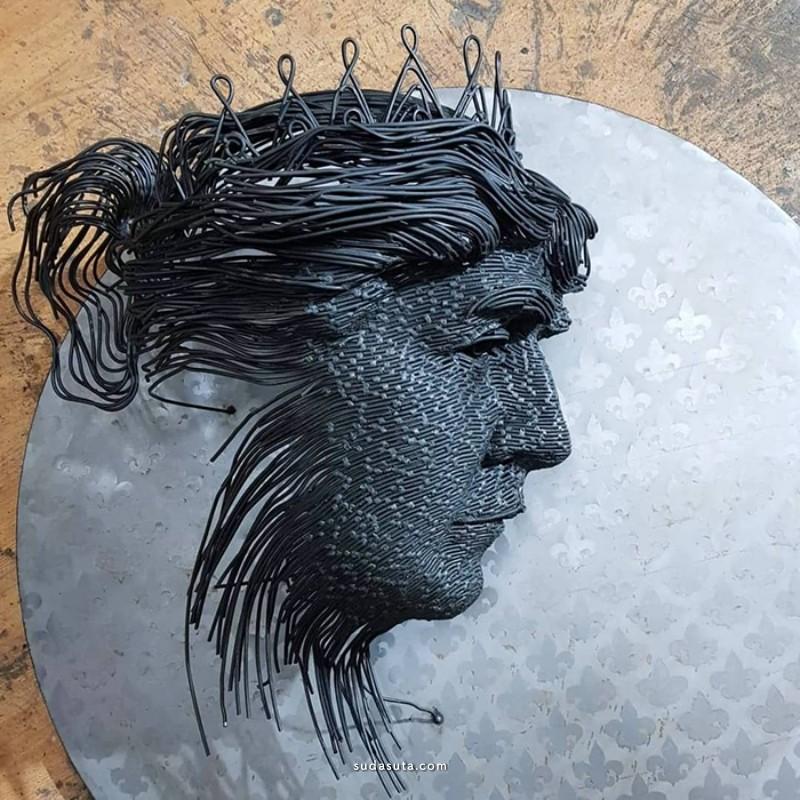 Darius Hulea 雕塑设计欣赏