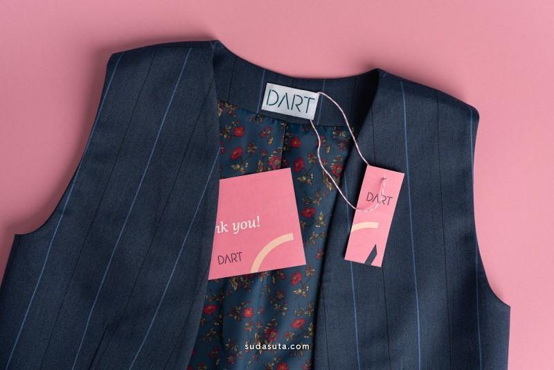 Dart 服装包装设计欣赏