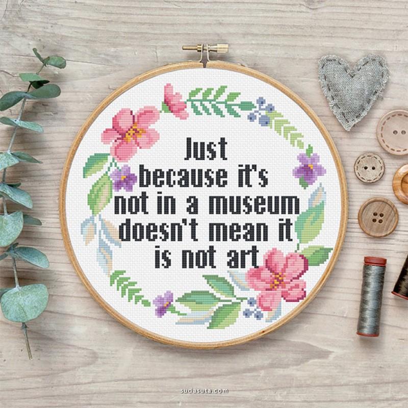 Katerina Lukashina 刺绣艺术欣赏