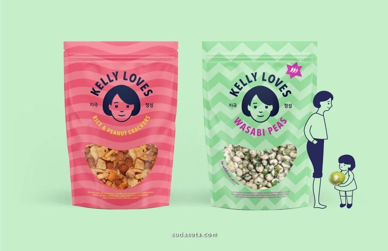 Kelly Loves 美食包装设计欣赏