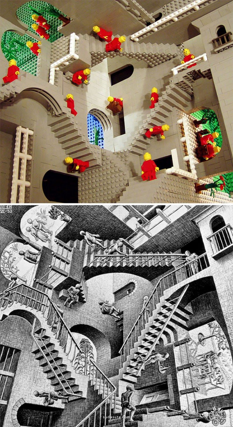 LEGO 向经典致敬