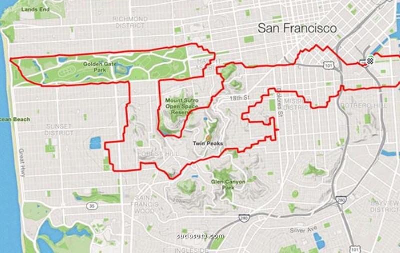 Lenny Maughan 在地图上作画