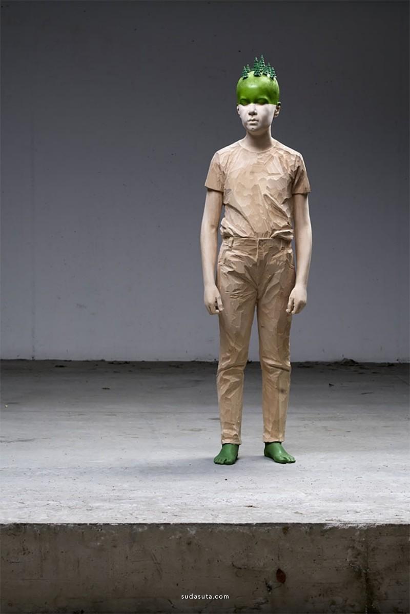 Willy Verginer 雕塑设计欣赏