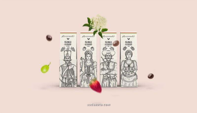 Zsofia Mihaly 包装设计欣赏