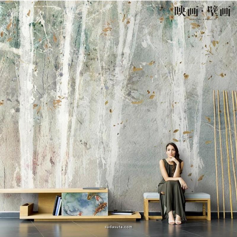 映画家居 室内壁纸设计欣赏