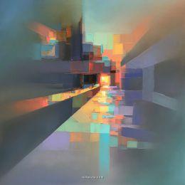 Jason Anderson 抽象风景艺术