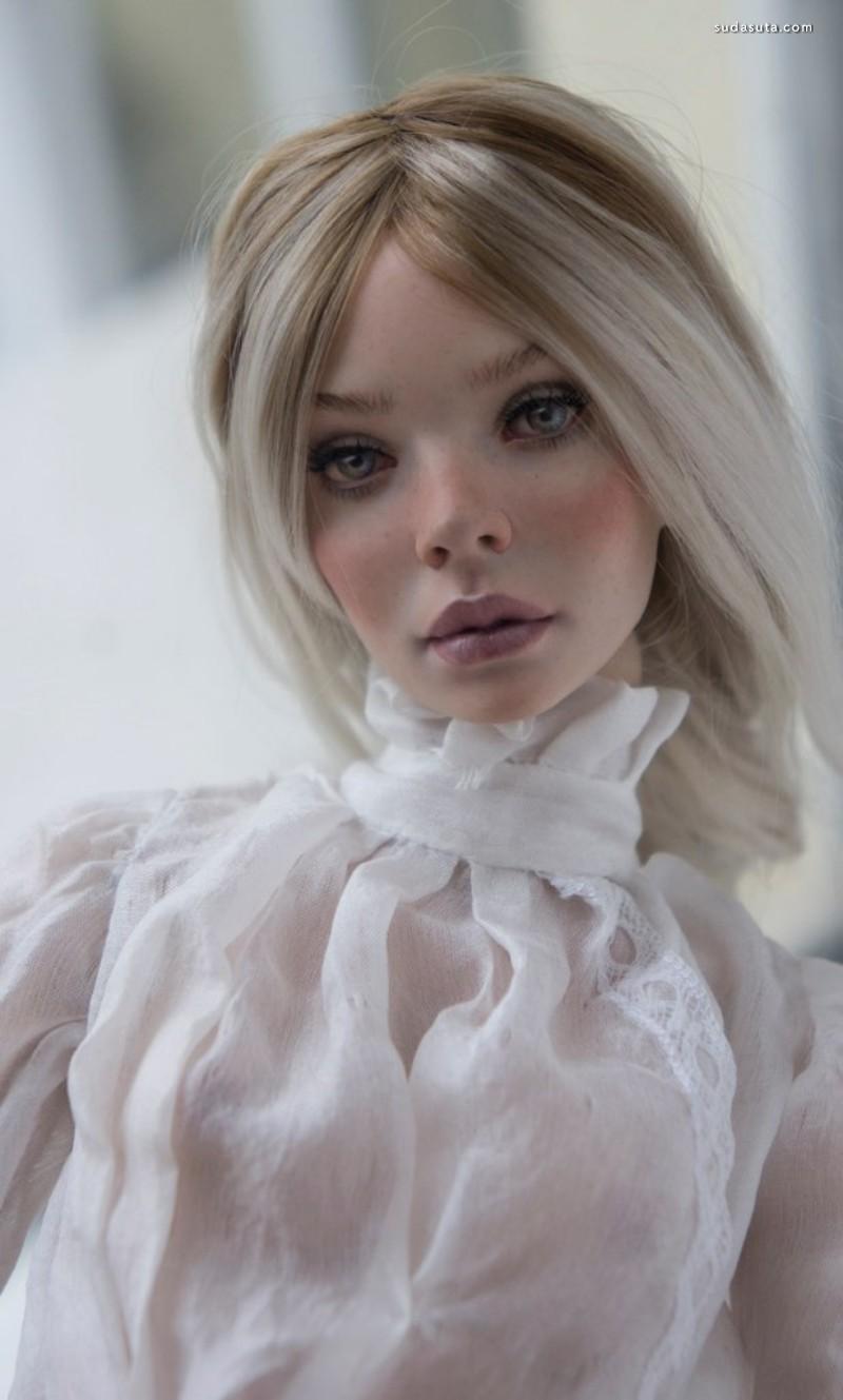 Anastasiya和Sergey Lutsenko 不可思议的手工娃娃
