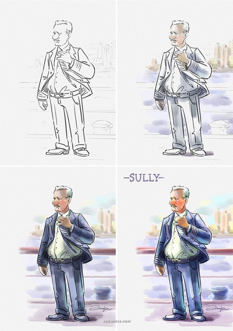 Anja Shu 卡通漫画作品欣赏