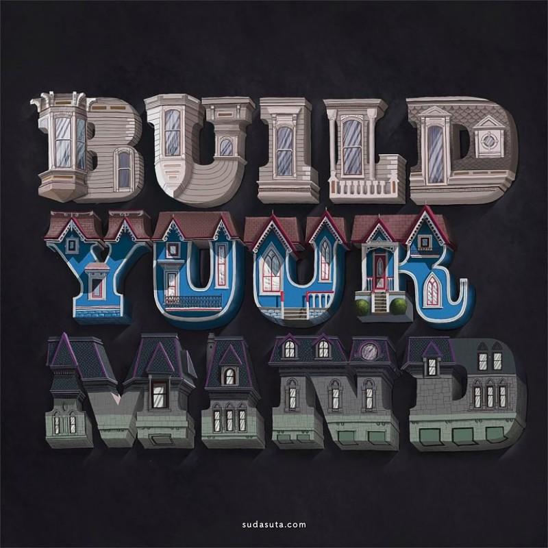 Biksence Nguyen 排版设计 数字艺术作品欣赏
