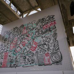 Carlos Rato Associati 无人机的城市涂鸦