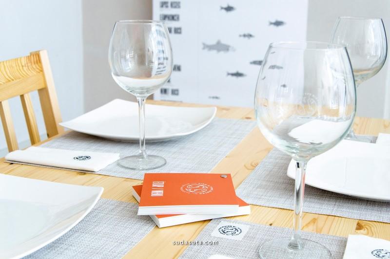 Fish & Type Bistro 品牌设计欣赏
